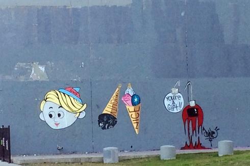 Austin Christmas Grafitti