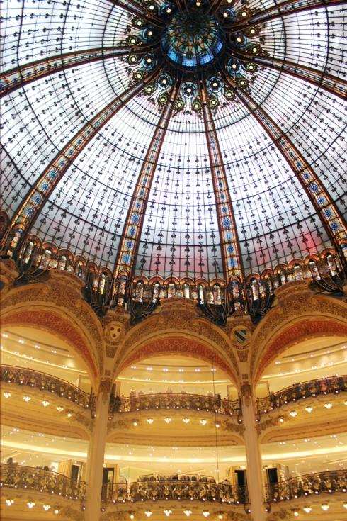 Galleries Lafayette #Paris   www.gustoandgraceblog.com