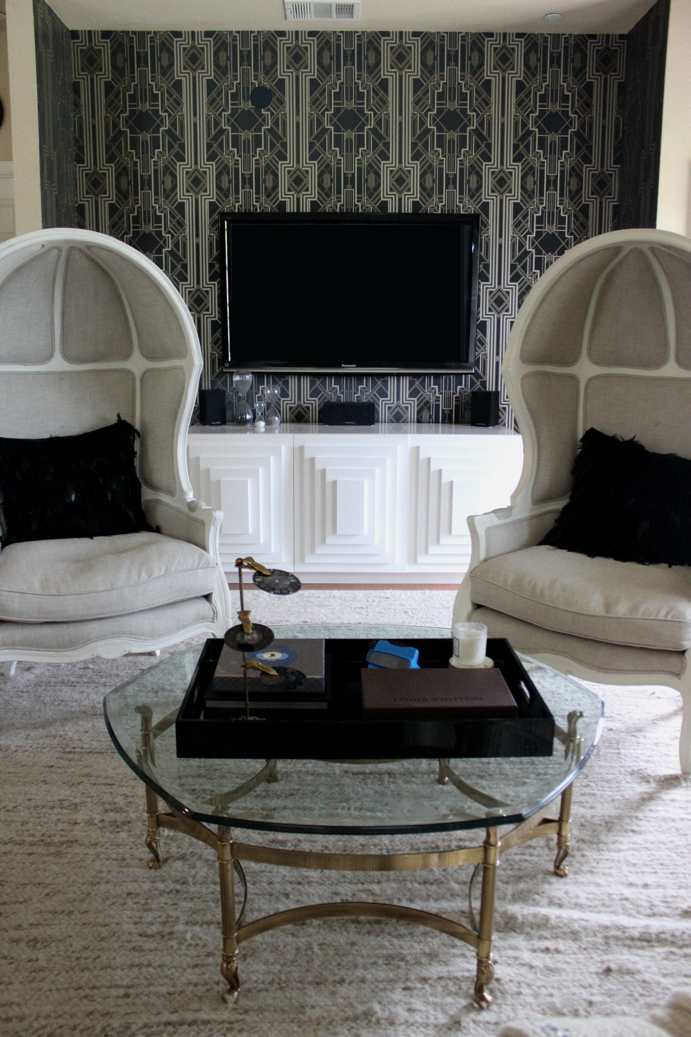 Art Deco Accent Wall | gusto & grace